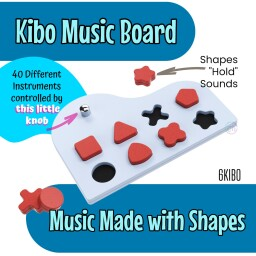 Kibo Music made with Shapes