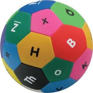 Žoga z abecedo