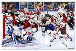 Hockey Fun, Floor Puzzle