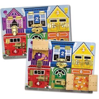 Colourful Latches Board