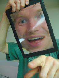 Funny Face Frame Magnifying Glass