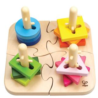 Creative Peg Puzzle - Development Sensory Toy