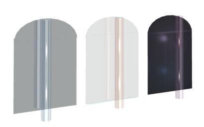 Okrossbar akrylplast