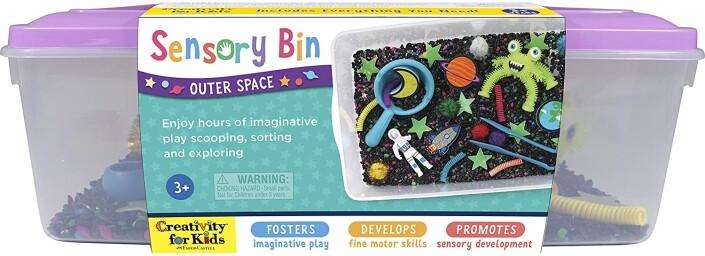 Sensory Bin - Outer Space