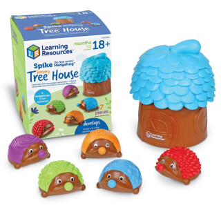 Spike the Hedgehog Sensory Tree House