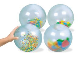 See Inside Balls - Visual Sensory Toy