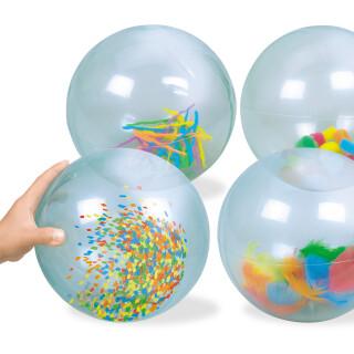 See Inside Balls - Visual Sensory Toy