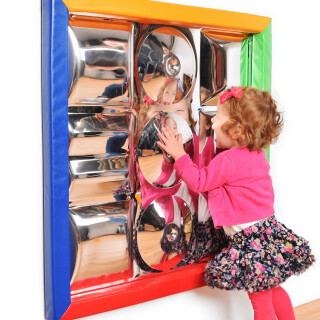 Sensory Mirror with padded frame