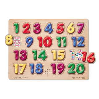 Spanish Numbers Sound Puzzle - LIMITED SUPPLY