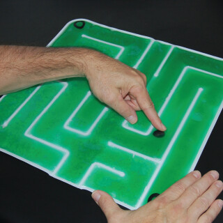 Gel Maze - Tactile Sensory Play