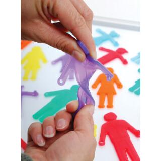 Sillishapes Linking People - Sorting Sensory Toy