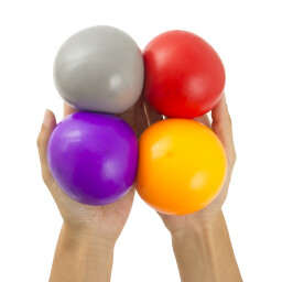 Pull & Stretch Stress Balls - Set of 4