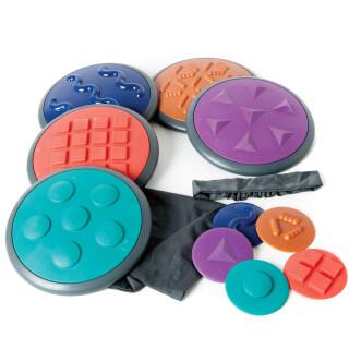 Tactillos Advanced Patterns - Tactile Sensory Discs