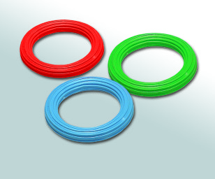 Ribbed Plastic Ring - 15cm Squidgy Sensory Toy