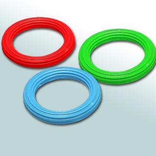 Ribbed Plastic Ring - 15cm Squidgy Sensory Toy