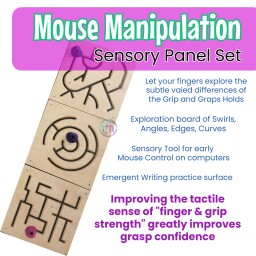 Mouse Manipulation Sensory Panels