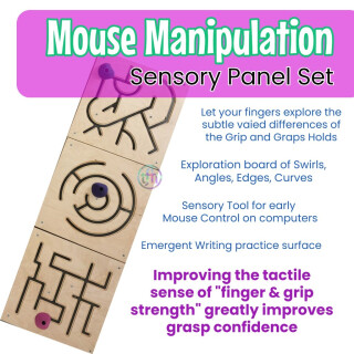 Mouse Manipulation Sensory Panels