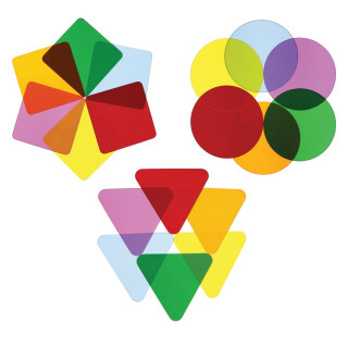 Color Wheel Variety Pack - Three Shapes