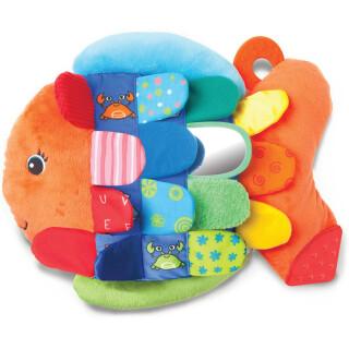 Flip Fish -Multi-Textured Soft Toy