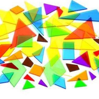 Light Table, Bucket of Polygon Flats