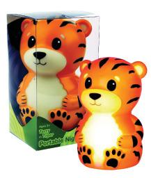 Portable Night Light-Terry the Tiger