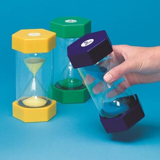 Colored Sand Timers Set of 3 - LIMITED SUPPLY