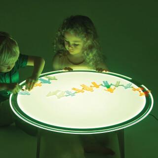 Okrogla Svetlikajoča Tabla - spreminja barvo