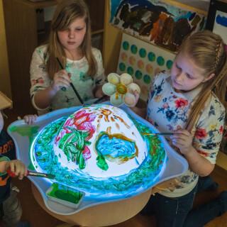 Light Table Bubble Accessory - Colourful Sensory Toy