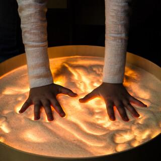 Magic Light Table - Colourful Sensory Toy