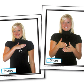 Sign Language Learning Cards