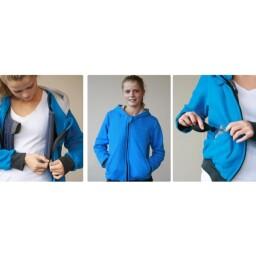 Large Blue Squease Jacket, Vest & Pump - LIMITED SUPPLY