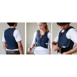 Medium Grey Squease Jacket, Vest & Pump - LIMITED SUPPLY