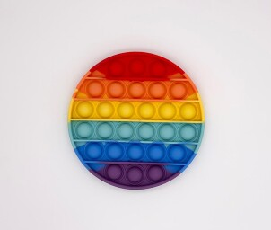 Square Rainbow - Pop Fidget Toy