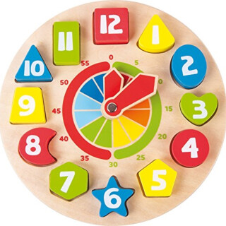 Shapes Teaching Clock
