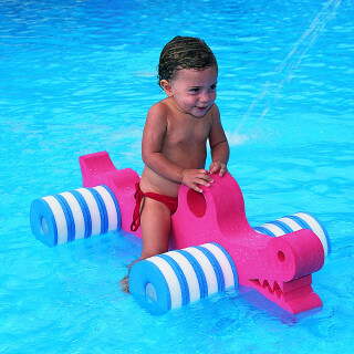 Foam Pool Croc Ride