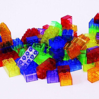 Light Table Translucent Blocks