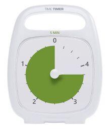 Klocka Time Timer Plus 5 min