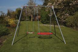 Brave Double Swing Set