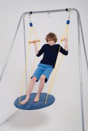 Carpeted Circular Platform - Indoor Swing Sensory Toy
