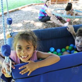 Inclusion Swing, Deep Boat & Balls Swing