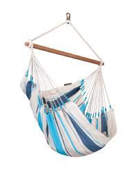 Hammock Chair-Caribena Aqua Blue