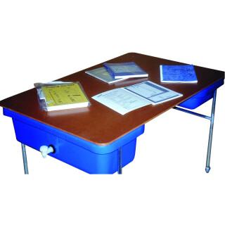 Sand och vattenlekbord, täckskiva