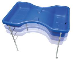 Hourglass Sandpit & Water Tray