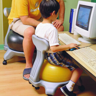 Modern Ball Chair (Large) - Balance Special Needs Toy