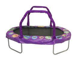 Mini Oval Trampoline-Purple