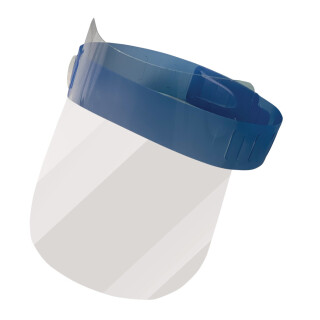 Clear Face Shields Set of 8