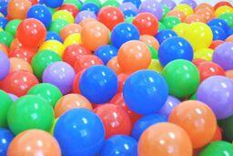 Colored Ball Pool Balls