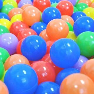 100 Colored Ball Pool Balls