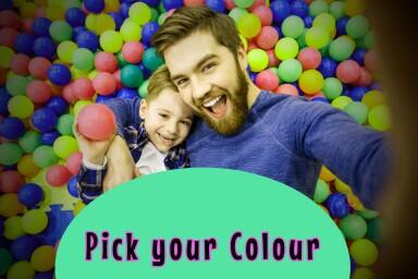 Bollhavsbollar 500st blandade färger