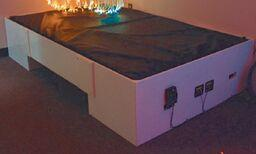 Single Waterbed with Frame